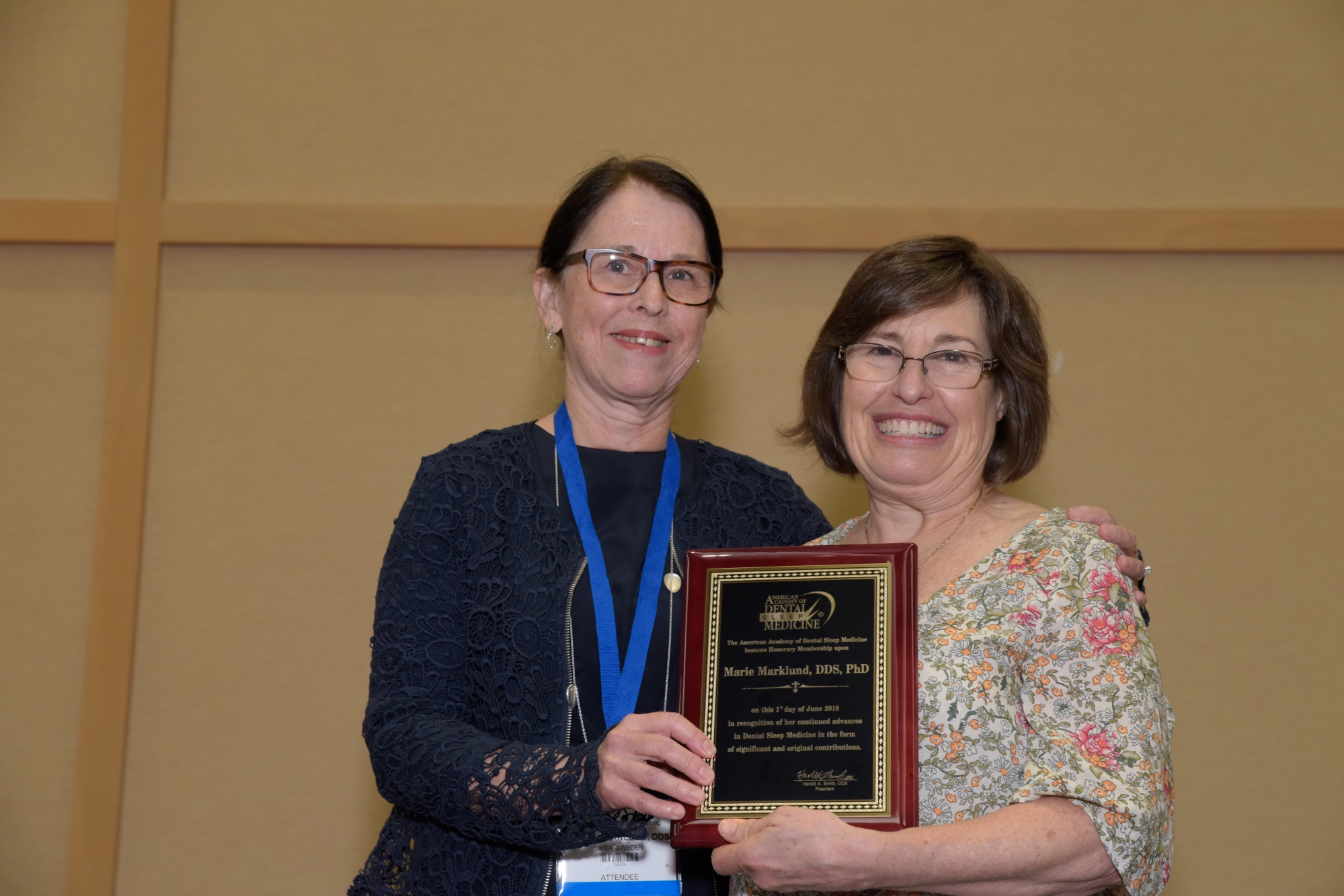 Participant winning abstracts at Annual Meeting